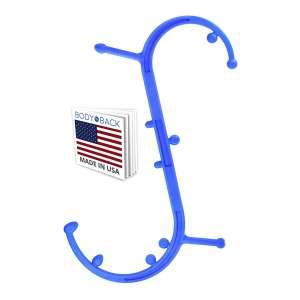 1. Body Back Trigger Point Massager - Handheld Massage Stick (Blue)
