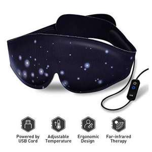 1. Graphene Times Heated Eye Mask