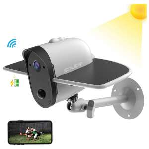 1. SOLIOM S60 Outdoor Solar Battery Powered Security Camera