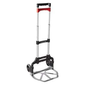 Welcom Magna Cart Personal Black/Red Folding Hand Truck