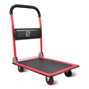 Wellmax Push Cart Dolly Foldable Platform Truck