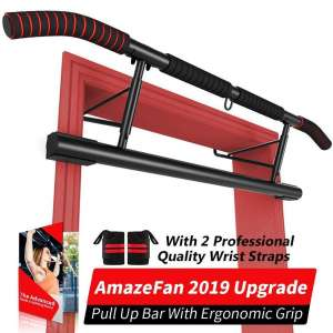 10. AmazeFan Pull Up Bar