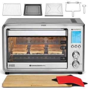 ConvectionWorks 1500 Watt Countertop Ovens Set