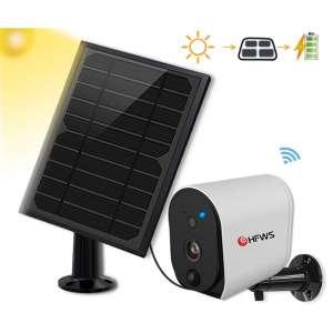 10. HF HFWS Wireless Solar Powered Security Cameras