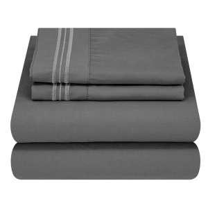 10. Mezzati Luxury Bed Sheet Set
