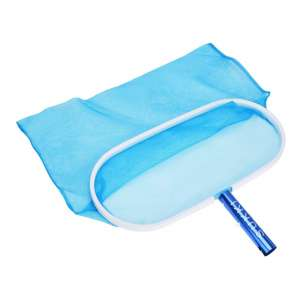 10. SUKKI Heavy-Duty Swimming Pool Leaf Rake Net