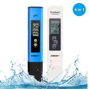 10. SUMGOTT Digital Water Quality Test, 4 in 1 Design