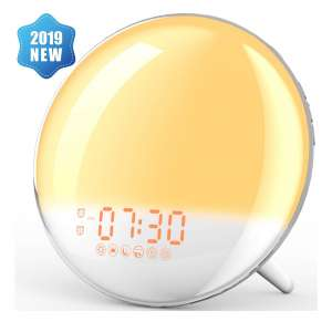 10. XIRON Alarm Clock with Sunrise/Sunset Simulation for Kids and Adults Bedroom
