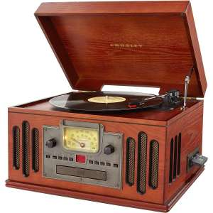 Crosley CR704D-PA Musician 3-Speed Turntable