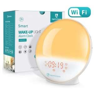 2. HeimVision Sunrise Alarm Clock, 4 Alarms, 20 Brightness