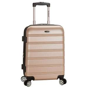 Rockland Luggage Melbourne Expandable Carry On