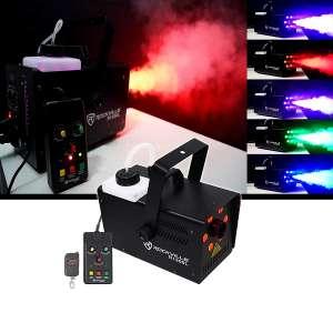 Rockville Fog/Smoke Machine with LED Lights