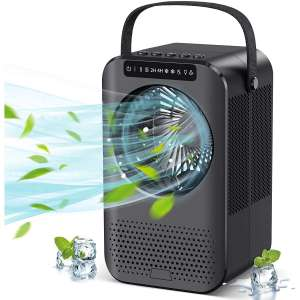 Charmelife Personal Evaporative Air Cooler with LCD Display