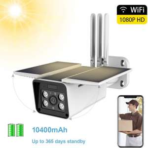 3. FUVISION Solar Powered Outdoor Security Camera