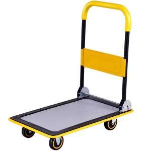 Goplus Folding Platform Cart