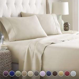 3. HC Collection Luxury Bed Sheet Set