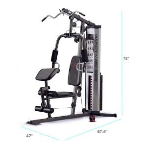 3. Marcy MWM-988 Multifunction 150lb Stack Steel Home Gym