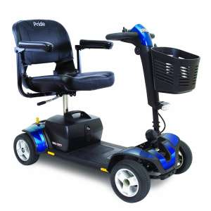 Pride Mobility 4-Wheel Electric Travel Power Scooter
