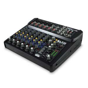Alto Professional ZMX112FX 8-Channel Compact audio Mixing console with Effects