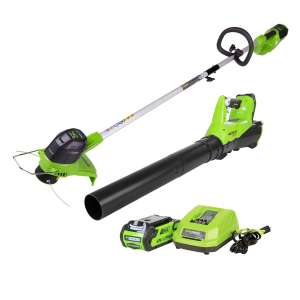 Greenworks Cordless String Trimmers & Blower Combo Pack
