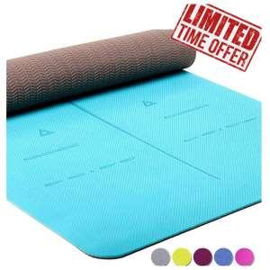 4. HeathYoga Eco-friendly Yoga Mat