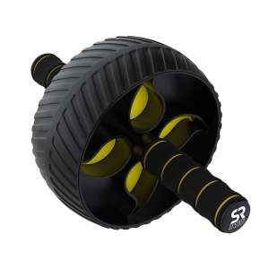 4. Sports Research Ab Wheel with Knee Pad