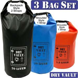 EasyGoProducts DRY VAULT – DRY BAG SETS