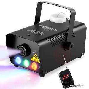 Electcpro Halloween Colorful Smoke Machine