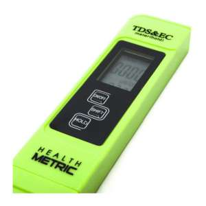 6. Health Metric Professional TDS ppm Meter with ± 2% Accuracy