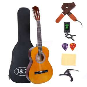 J&Z Classical Acoustic Guitar 36-inches