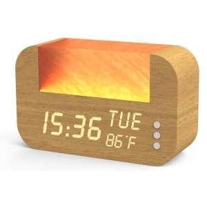 6. LA HOMIETA Alarm Clock w/Real Sunrise Simulation, Holiday Gift,