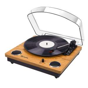Record Player, Popsky Vintage Turntable
