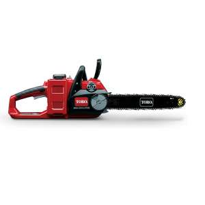 6. Toro PowerPlex 51880 14 inch Cordless Chainsaw, Charger and 2.5 Ah Battery included