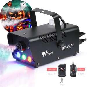 Amzdeal Fog Smoke Machine with LED lights