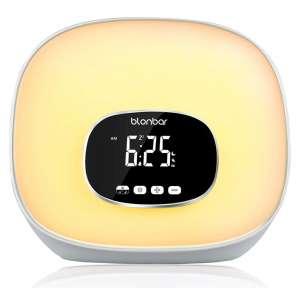 7. Blonbar Sunrise Alarm Clock for Bedrooms, Adjustable Brightness