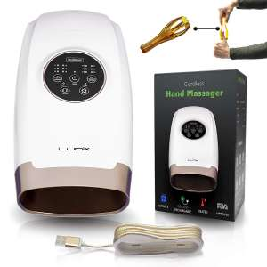 7. Lunix Cordless Electric Hand Massager