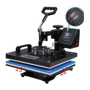 7. VEVOR 12 X 15-inches T-Shirt Heat Press