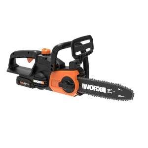 7. Worx WG322 20V Auto-Tension Cordless Chainsaw