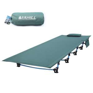 YAHILL Ultralight Folding Camping Cot Bed