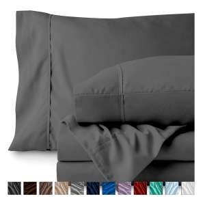 8. Bare Home Queen Bed Sheet Set