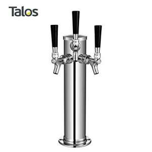 8. Talos Draft Kegerator Beer Tower
