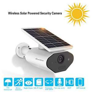 8. The VIEWZONE Solar Powered Security Cameras