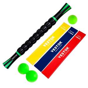 VESTOK Muscle Massage Roller Stick