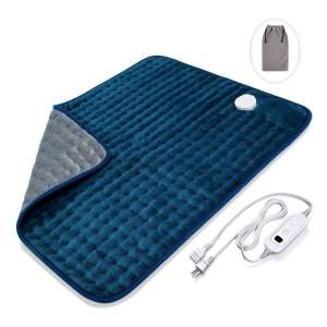 8. Veken XXL Ultra-Soft 20 x 24 inches Electric Heating Pad