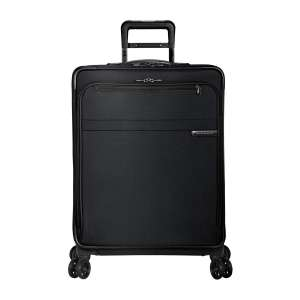 Briggs & Riley Softside Checked Luggage with Spinner Wheels