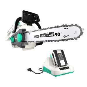 9. LiTHELi 40V 2.5AH Battery 14 inches Brushless Motor Cordless Chainsaw