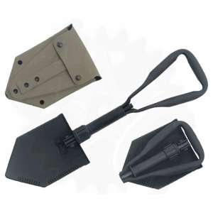Military Issue Tri-Fold Shovels