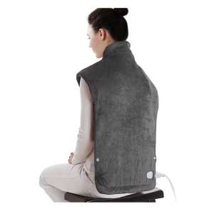 9. Sable XXX-Large Neck and Shoulders Electric Heating Pad, Dark Gray