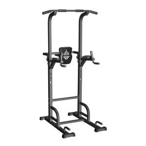 9. Sportsroyals Dip Station Power Tower Pull Up Bar, 400LBS.