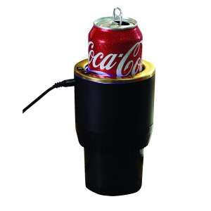 "1. ""Warm & Cool"" Smart Car Cup Warmer & Cooler (Black)"